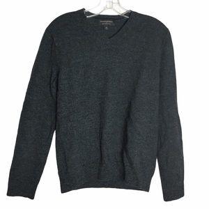 Banana Republic Mens Gray Wool Sweater Sz. M